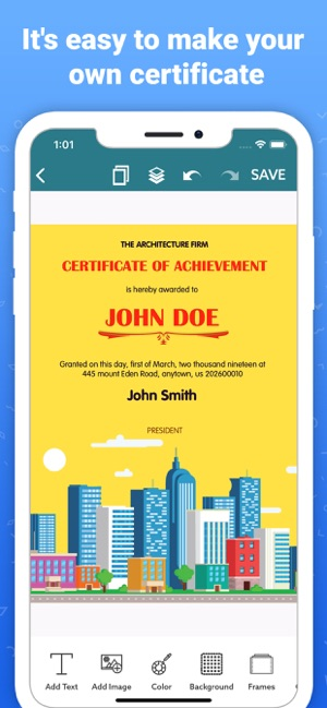 Certificate Maker,Card Creator on the App Store