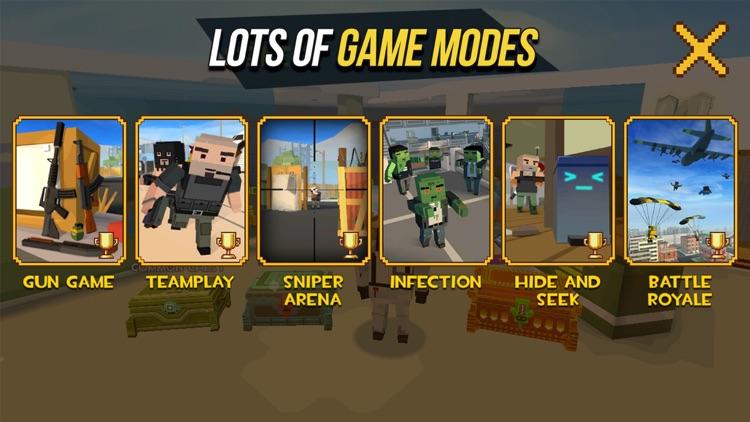 Grand Battle Royale: Pixel FPS screenshot-4