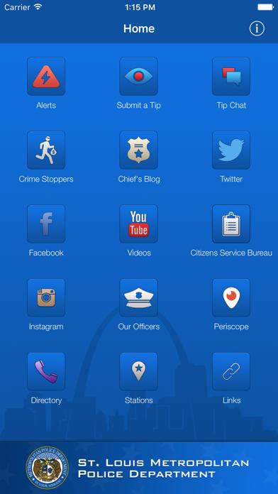 SLMPD Mobile screenshot one