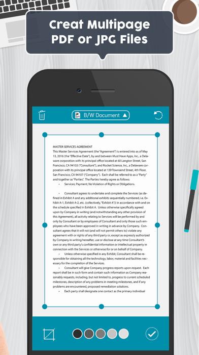 Easy Scanner PDF Document Scanのおすすめ画像9