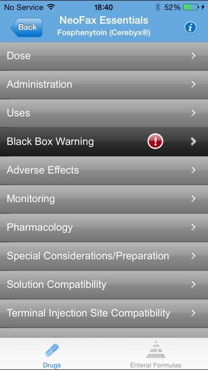 IBM Micromedex NeoFax