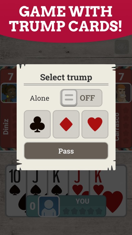 Euchre: Multiplayer Card Game screenshot-6