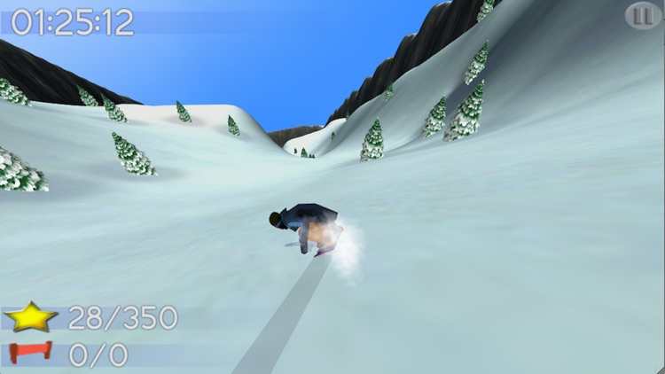 Big Mountain Snowboarding Lite screenshot-3