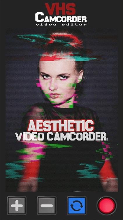 VHS Cam - Glitch Video Editor screenshot-3
