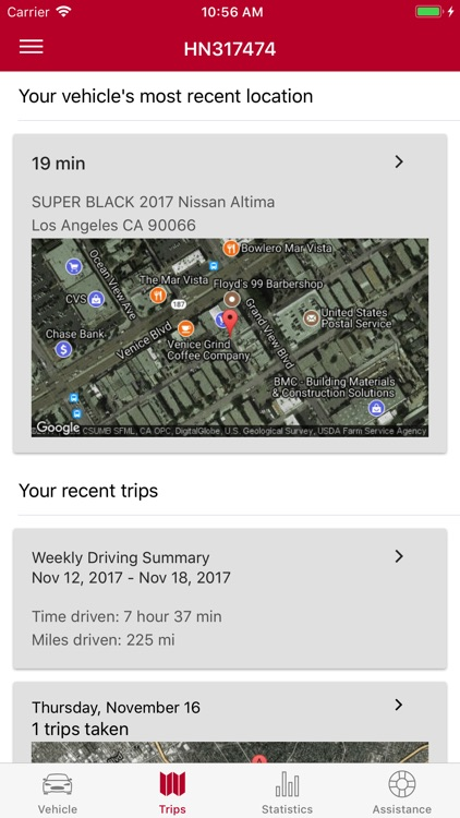 Nissan VTRS Locator screenshot-2