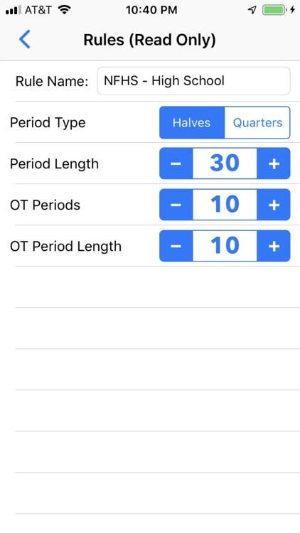 Field Hockey Scorebook + Stats screenshot-5