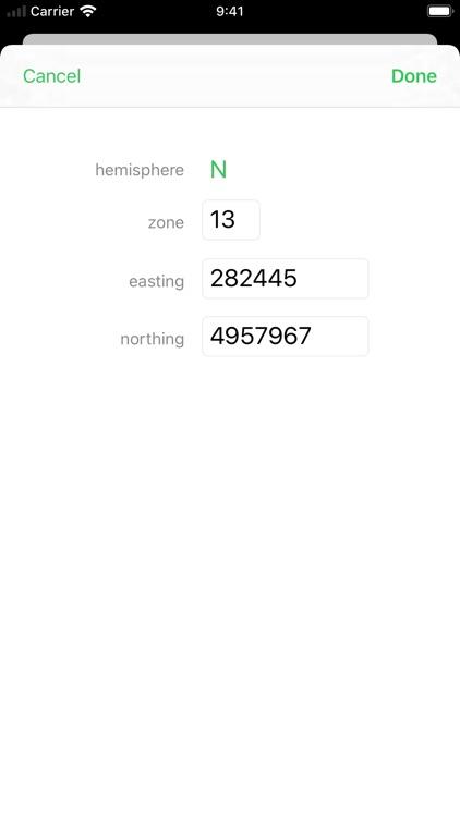 Coordinates Lite screenshot-3