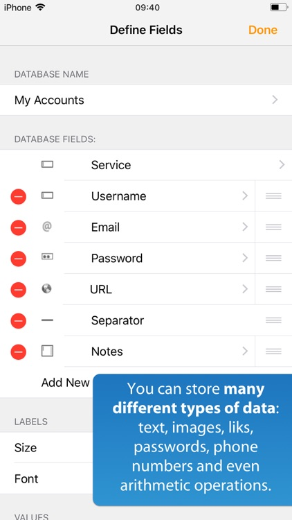 iDatabase screenshot-6