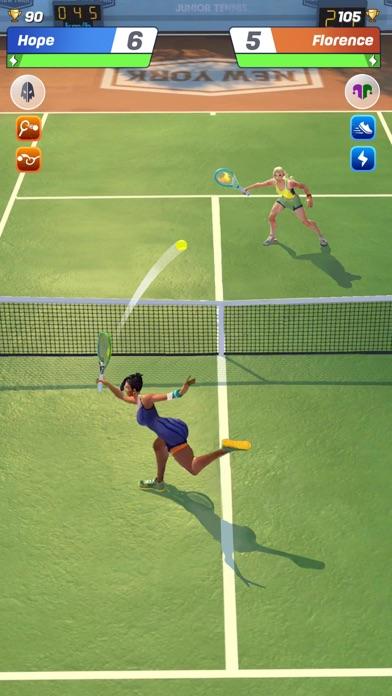 点击获取Tennis Clash: Juego de campeón