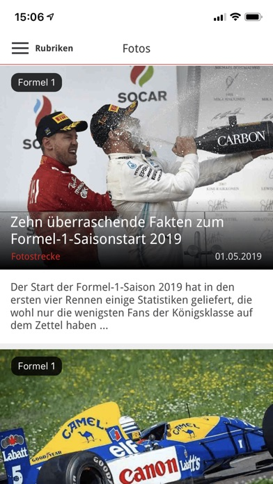 Screenshot for Motorsport-Total.com in Thailand App Store