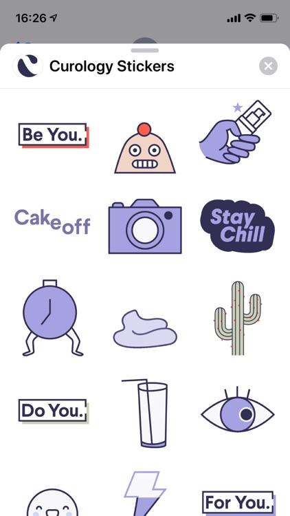 Curology Stickers