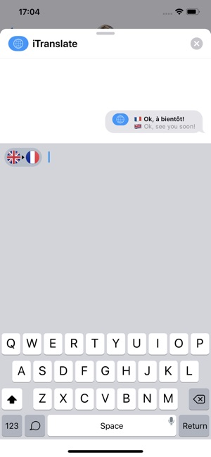iTranslate Traducteur Capture d'écran