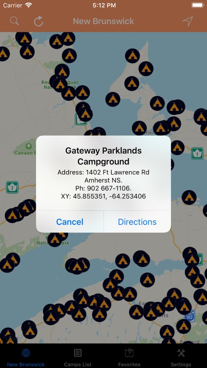 New Brunswick – Camps RV Parks screenshot-4