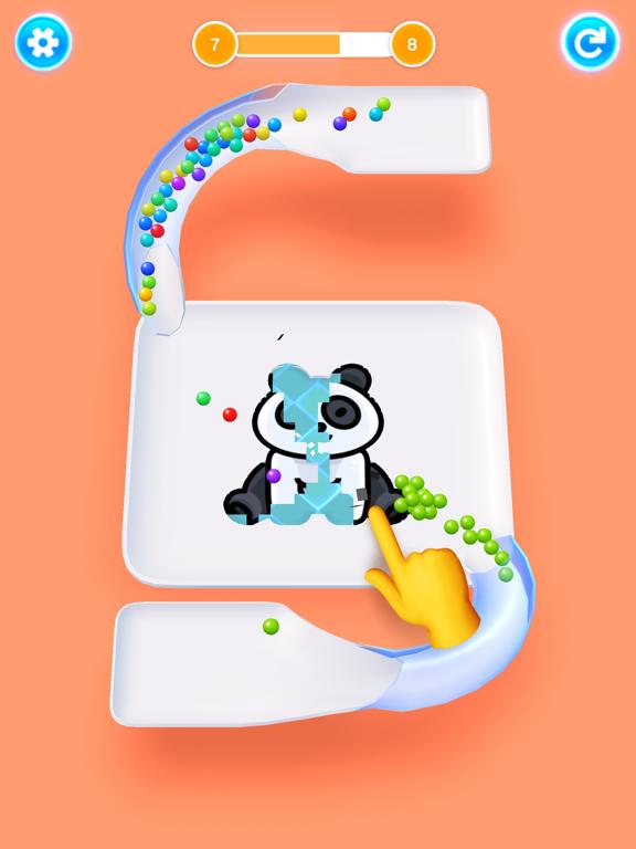 Color 3D Balls screenshot 10