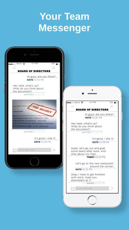 SafeRoom Business Messenger screenshot-3