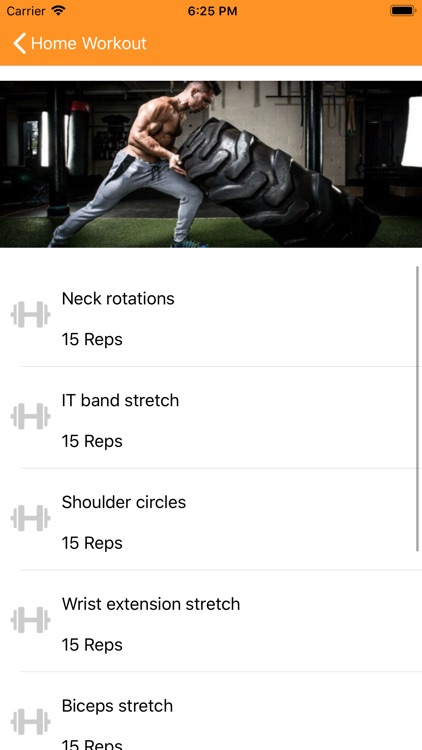 Home Workout screenshot-4