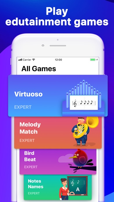 Screenshot for Hello Piano - Lessons & Games in United States App Store