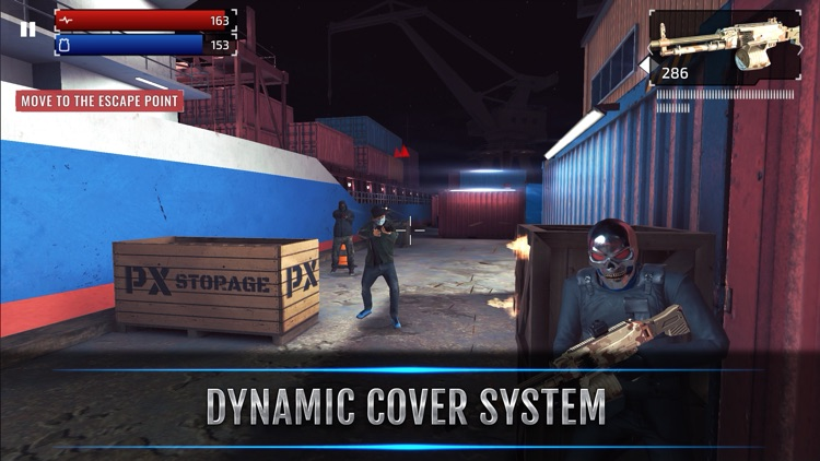 Armed Heist: TPS Shooting Game screenshot-3