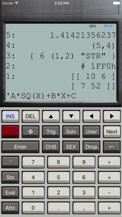 Halcyon Calc Lite screenshot-0