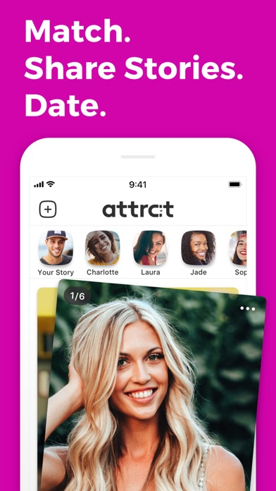 Attrct - The Story Dating App