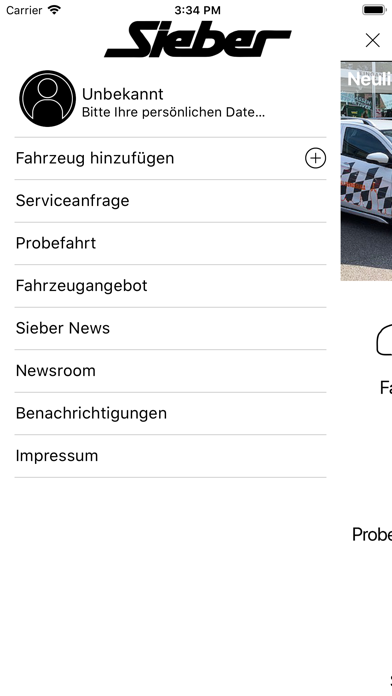 Sieber Automobile screenshot 2
