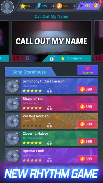 Screenshot for Tap Tap Music-Pop Songs in Indonesia App Store