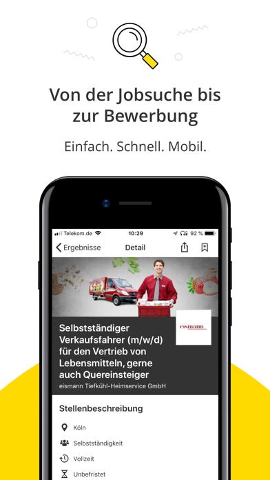 Jobbörse - Deine JobsucheScreenshot von 3