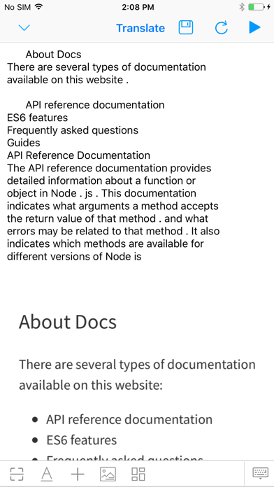 1Note-OCR And Splice Pic Screenshots
