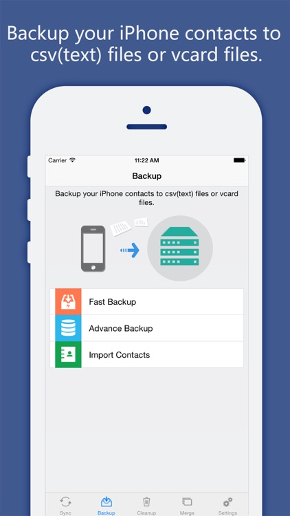 Contacts Sync, Backup & Clean