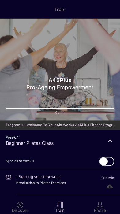 A45Plus Pro-Ageing Empowerment screenshot 1