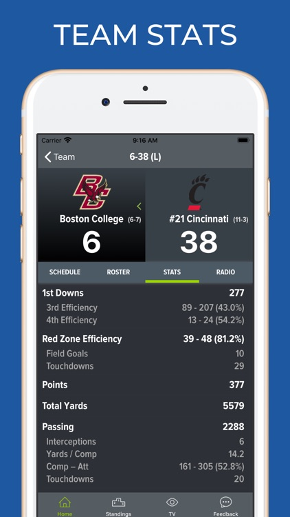 Boston College Football screenshot-4