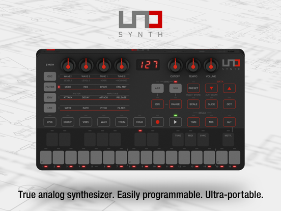 UNO Synth Editor screenshot 10