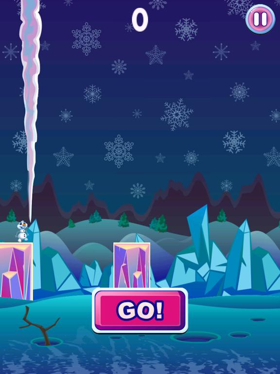 Frozen Snowman - Run Fall-ipad-0