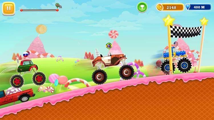 Monster Truck Climb Rush screenshot-4
