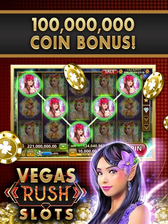 Vegas Rush Slot Machine Games! на iPad