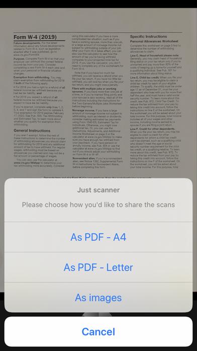 Just scanner screenshot 3