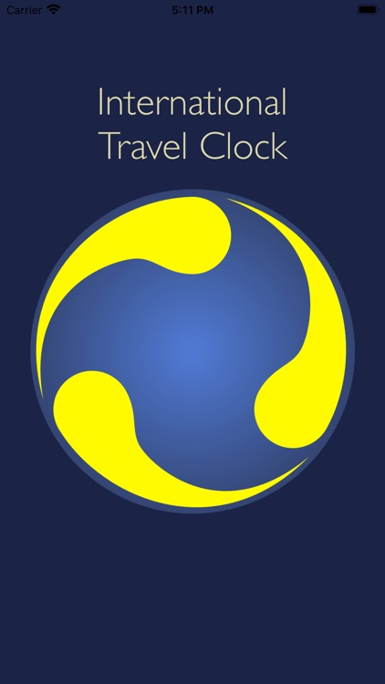 International Travel Clock