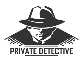 The PrivateDetectiveTL is a small sticker, which are show the 30 Private Detective sticker in cartoon
