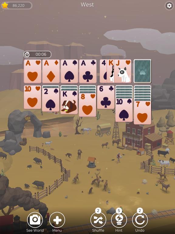 Solitaire Planet Zoo screenshot 19