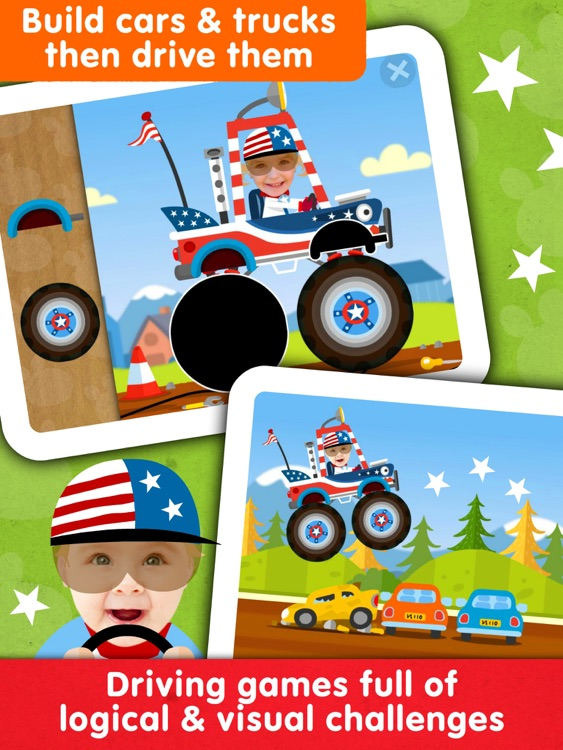Kids Car Race Games Toddlers