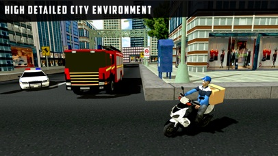 City Courier Moto Delivery screenshot 3
