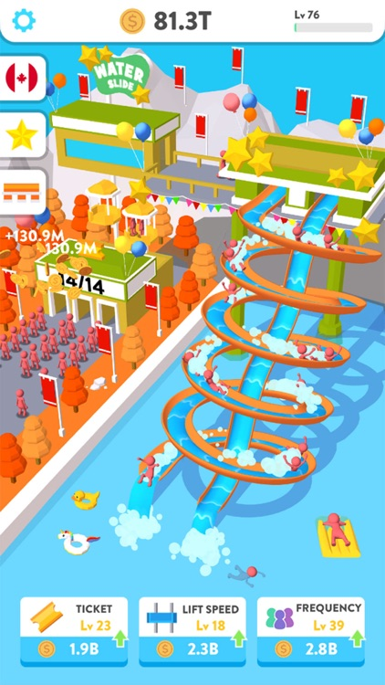Idle Water Slide screenshot-4
