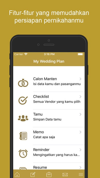Mantenan - Aplikasi Pernikahan