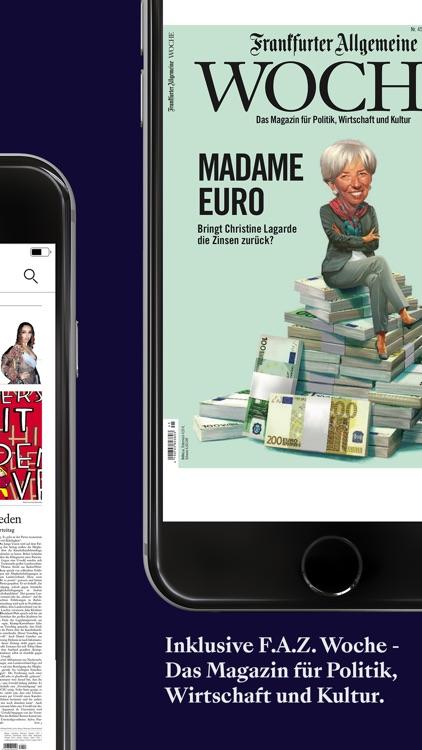 F.A.Z. Kiosk - App zur Zeitung screenshot-4
