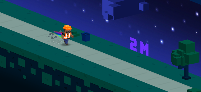 Bit Runner HD, game for IOS