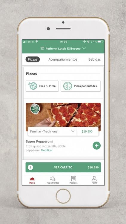 Papa John's Pizza Chile screenshot-3