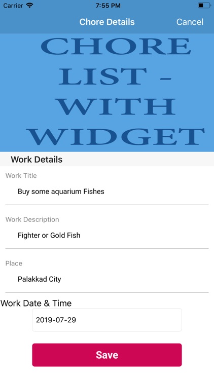 Chore List - with Widget screenshot-6