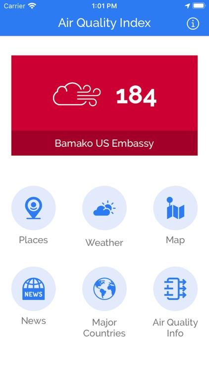 Air Quality Index - Live AQI