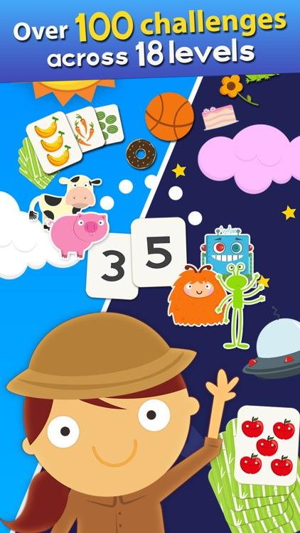 Animal Math Games for Kids screenshot-0