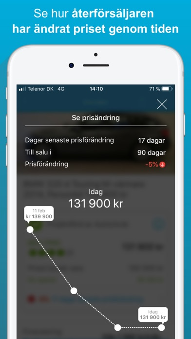 Screenshot for AutoUncle: Sök begagnade bilar in Sweden App Store
